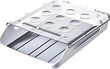 HBDY Caja de huevos con ruedas automáticas,