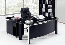 Hd Deco - Mesa OFICINA PREMIUM oval, mueble a