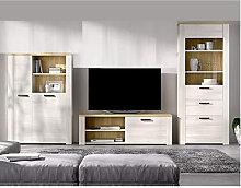 Hd Deco - Mueble de salón Comedor, módulo TV +