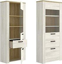 Hd Deco - Mueblel Vitrina 2 Puertas, Salon Comedor
