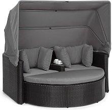 Heartland Sofá lounge de 2 plazas con mesa