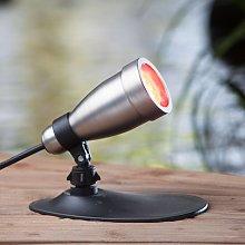 HEISSNER SMART LIGHTS foco LED RGB plata 9W
