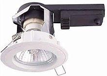 Heitronic Luz empotrable GU10, 50 W, weiß, 0.0 x