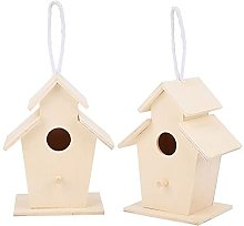HERCHR 2 Casas para pájaros para Exteriores, casa