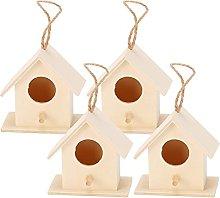 HERCHR 4 Piezas de Casas para pájaros para
