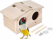 HERCHR Casa para pájaros para Exteriores, Casas
