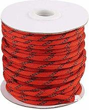HERCHR Cuerda de Nailon de 20 m, tendederos para