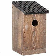 HERCHR Exterior de la casa de pájaros de Madera,
