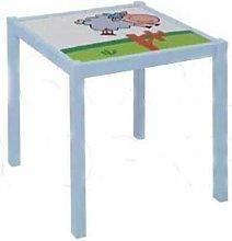 Herdasa - Mesa infantil sheep blanca y verde oveja