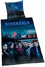 Herding Riverdale - Juego de Cama Reversible (80 x