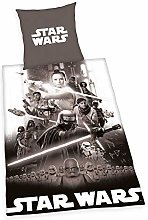 Herding Star Wars 9 Juego de Cama, Algodón, Gris,