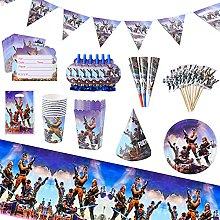 Herefun 96 Piezas Game Party Supplies, Accesorios