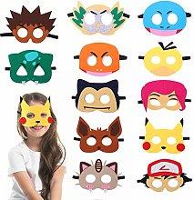 Herefun Máscaras de máscaras niños de Cosplay