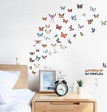 Hermosas Mariposas Pegatinas de Pared para Nevera