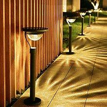 HEWXWX 2020 Luces Solares para JardíN Al Aire