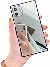HHZY Funda Espejo Compatible con iPhone 12 Pro MAX