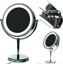 HIMRY LED Cosmética Espejo 8,5 Pulgadas, Aumento