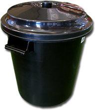Hiperlimpieza - Cubo basura Colectividades Negro