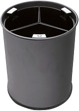 Hiperlimpieza - Cubo reciclaje 13L 3 cubos negros