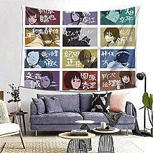 Hirola Durarara - Tapiz de pared con diseño de