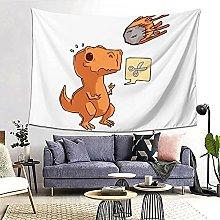 Hirola Tapiz de pared con diseño de dinosaurio,