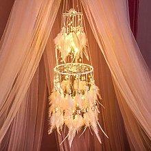HitTopss Atrapasueños con luz para decoración de