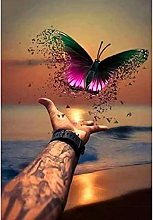 HJHJHJ Puzzle for Adults 1000 Piece (Butterfly)