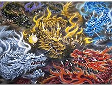 HJHJHJ Puzzle for Adults 2000 Piece (Shenlong)