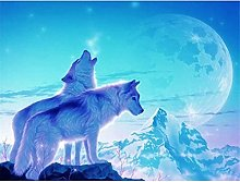 HJHJHJ Puzzle for Adults 4000 Piece (Wolf) Jigsaw