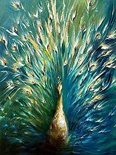 HJHJHJ Puzzle for Adults 500 Piece (Peacock)