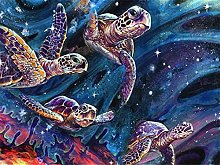 HJHJHJ Puzzle for Adults 5000 Piece (Turtle)