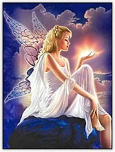 HJHJHJ Puzzle for Adults (Angel Girl) Jigsaw