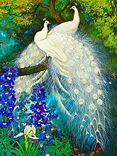HJHJHJ Puzzle for Adults (Peacock) Jigsaw Puzzles