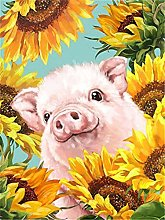 HJHJHJ Puzzle for Adults (Piggy) Jigsaw Puzzle