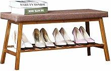 HLL Europeo de Zapatos Simple Banco de Bambú