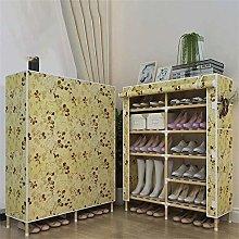 HLL Zapatero de madera maciza Zapato de dormitorio
