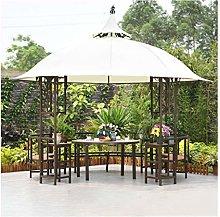HLZY Gazebo de Muebles de jardín 10x10 FT al Aire