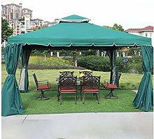 HLZY Gazebo de Muebles de jardín 12x12 FT Jardín