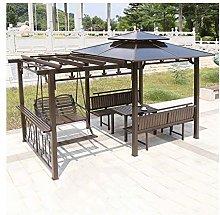 HLZY Gazebo de Muebles de jardín Patio Mirador