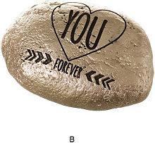 Hogar Y Mas - Piedra decorativa con Frases
