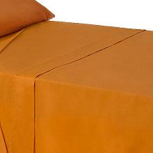 Hogar y más -Sábana Encimera de color Naranja