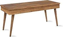 Hogar24-Mesa de Centro elevable diseño Vintage,