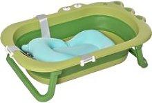 HOMCOM Bañera Plegable para Bebé Recién Nacido