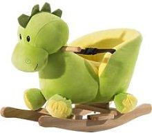 HomCom Caballo Balancín Dinosaurio de Peluche