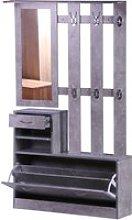 HomCom® Conjunto de Muebles de Entrada Recibidor