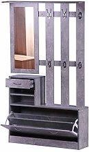 HOMCOM Conjunto de Muebles de Entrada Recibidor