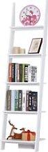 HomCom® Estantería Escalera Librería con 5