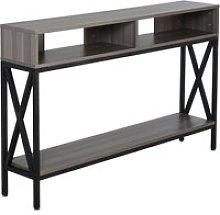HOMCOM Mueble Recibidor Mesa Consola Estilo