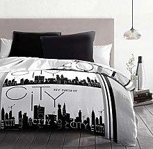 Home Passion City by Night Set de 3Adornos de