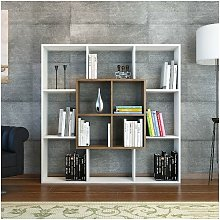 Homemania - Libreria Leef Estanteria para Libros,